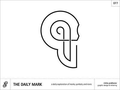 The Daily Mark 078 - Skull