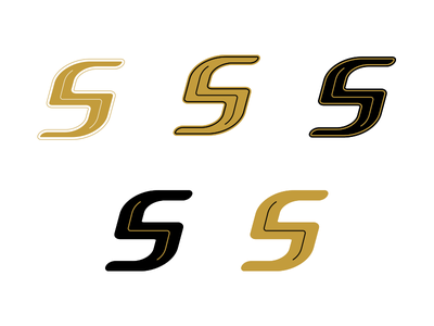 S Options vector type typography lettering