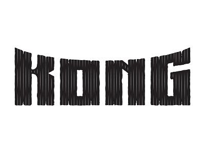 Kong: Skull Island / Progress Shot 1 movie hand lettering lettering typography type