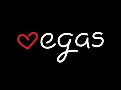 Cotton Bureau // Vegas Love cotton bureau love lettering typography type vegas
