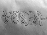 Vespa Ambigram