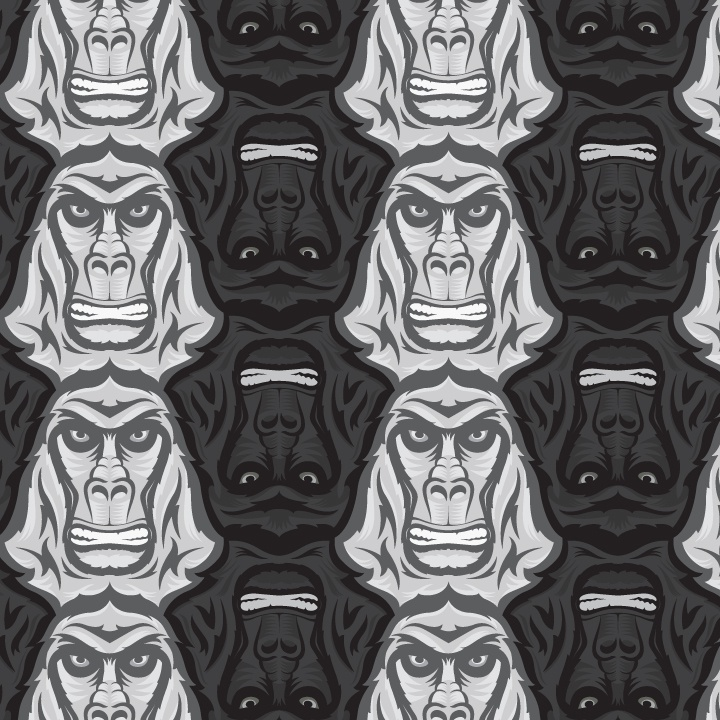 Gorilla tessellation final