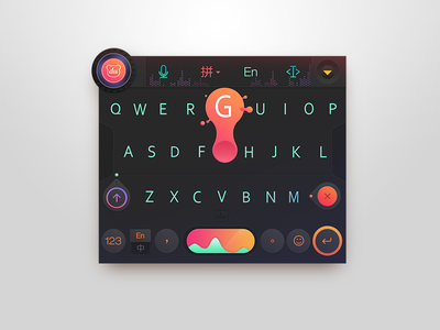 Music and Dangcing!~ dj candy black keyboard color graphic music ui