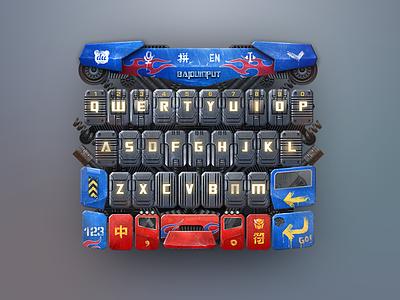 Transformer iron keyboard transformer ui
