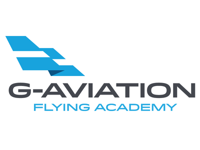 G-Aviation Logo plane airplane logo idlewild flag tail runway sky