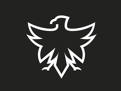 Eagle outline rebranding eagle outline logotype logo