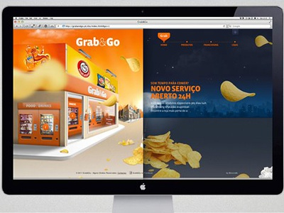 Grab&Go website