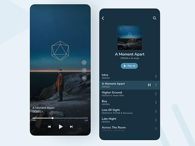 Music Player - DailyUI ux ui design app