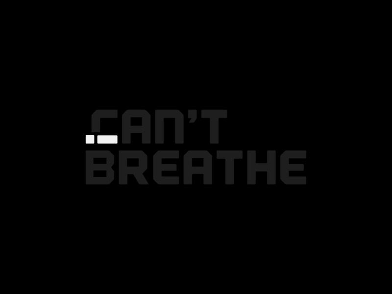 I Cant Breathe negative space space negative rip blackoutday blackouttuesday justice floyd george icantbreathe georgefloyd