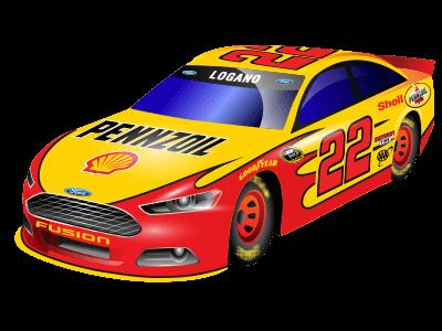 Joey Logano Car