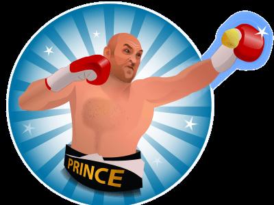 Tyson Fury sticker