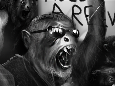 The Monkey End Game-Illustrations