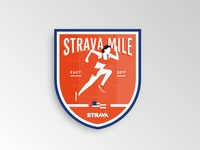 Strava Mile Badge