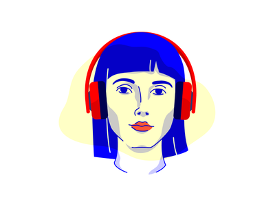The Business Podcasts That Will Make You A Better Entrepreneur woman face headphones girl teams marketing design working remote business podcast entrepreneur