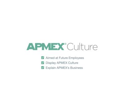 APMEX Culture & About Pages