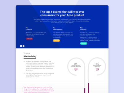 One Pager Report - Infographic Visualization