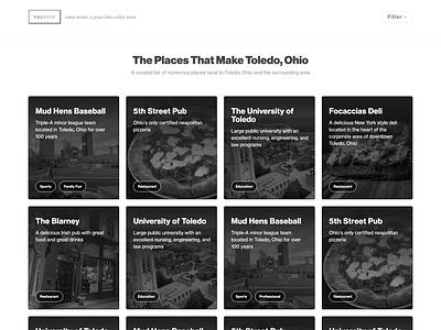 TolMadeUs grid website clean web design