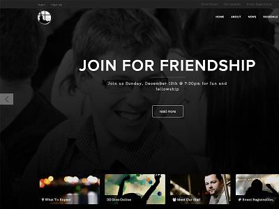 Rosedale website web design grid large photo