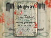 Murder Mystery Invites