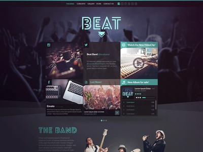 Beat - Music and Band Template