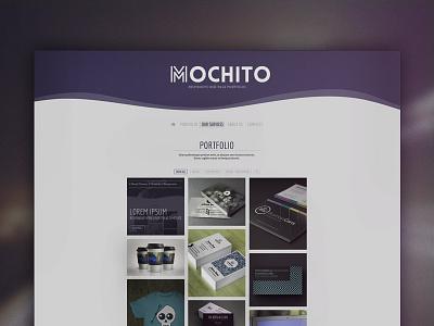 Mochito - One Page Portfolio bootstrap clean creative modern one page parallax portfolio professional responsive retina showcase