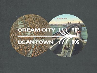On the Move! massachusett beantown boston bos wisconsin cream city milwaukee mke