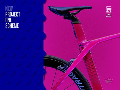 7/5/17 pink blue dots paint project one trek bikes