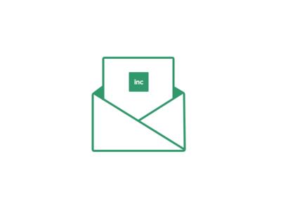 Something for a newsletter flat simple newsletter email letter invite
