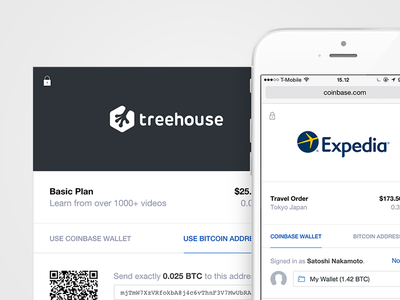 Bitcoin checkout bitcoin checkout business payment merchant coinbase modal flat
