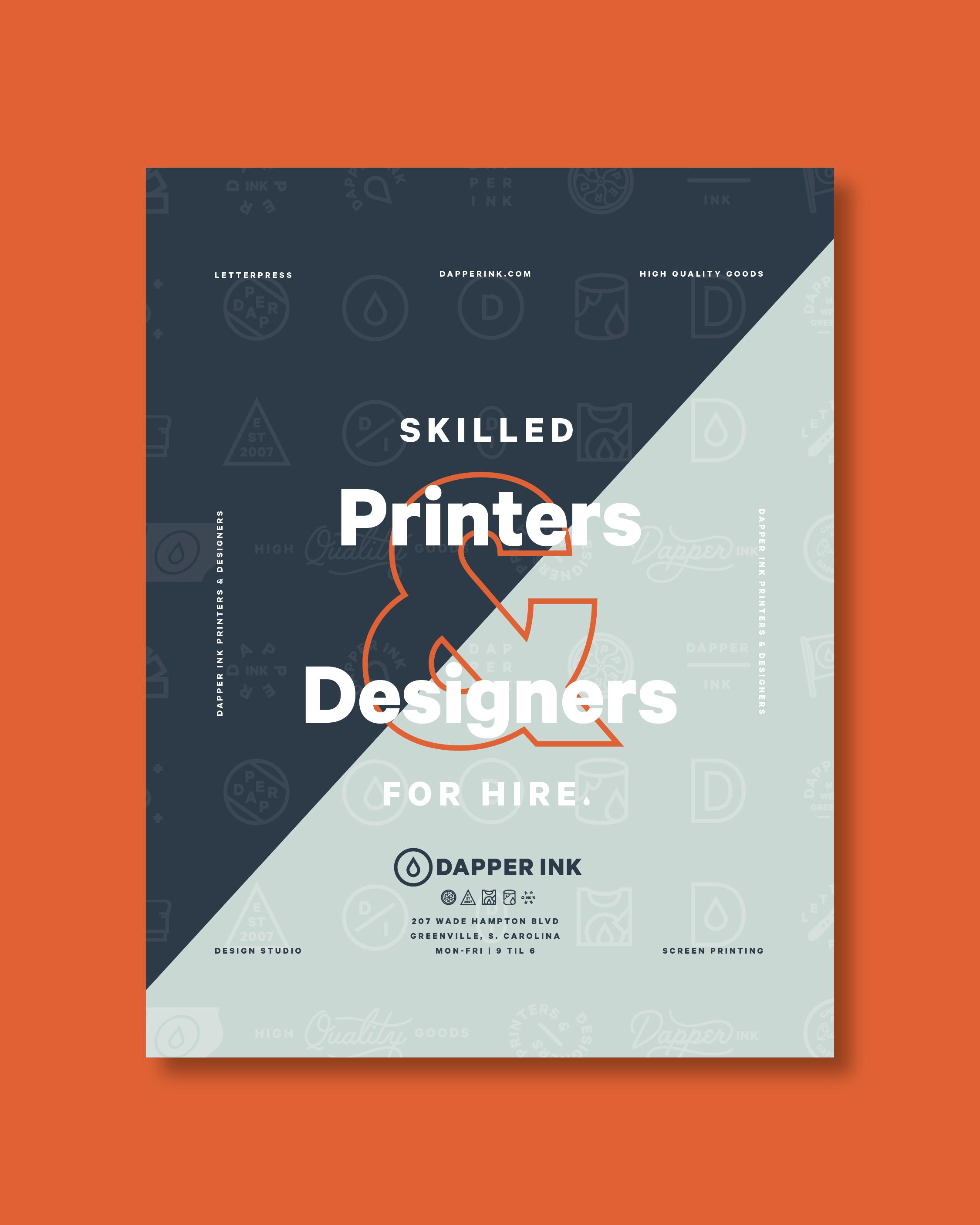 Jacob Boyles / Projects / Dapper Ink | Dribbble
