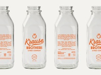 Krause Brothers Bottles