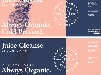 Cleanse & Juice typography system pattern packaging logo lines illustration grids branding badge