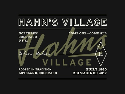 Citizen Hahn signage building line work typography pattern grids system lines logo branding