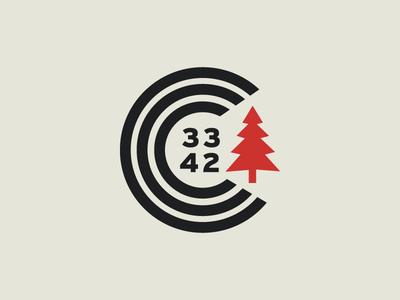 CCC typography pattern outdoors logo kayaking identity idea icons grid design climbing branding