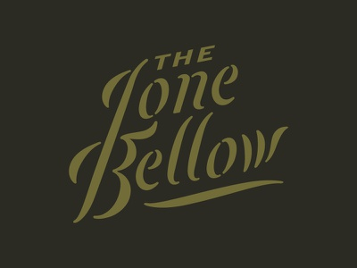 Lone Bellow badge branding grids illustration lines logo packaging pattern system typography