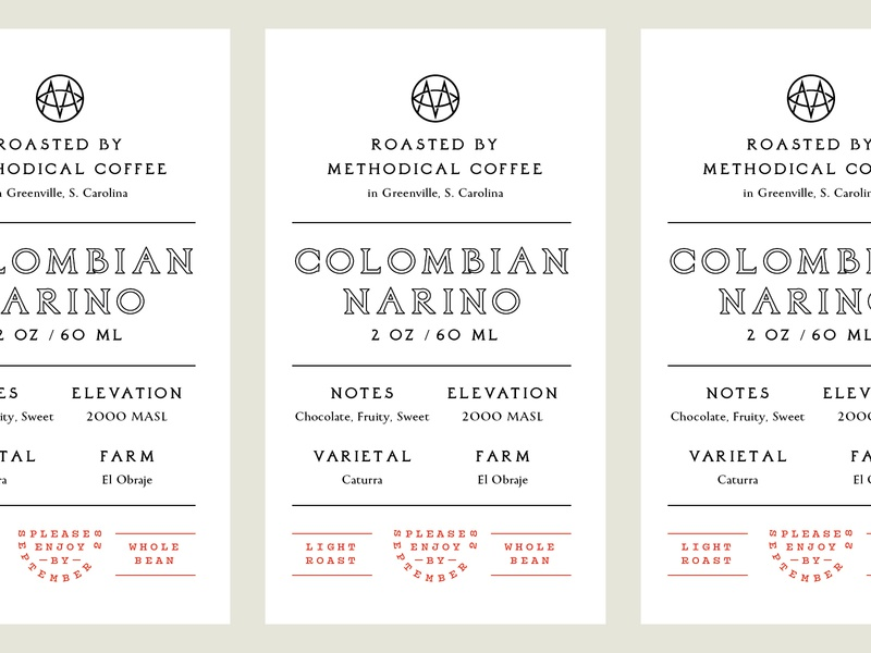 Elevation Worship x Methodical coffee label label coffe system type layout badge logo typography branding