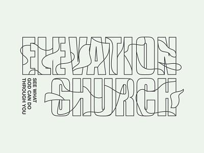 EC design shirt screenprint apparel printed type illustration texture layout grids lines pattern badge logo typography branding