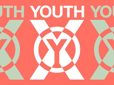 YTHX vector colors design shirt screenprint apparel printed packaging type illustration texture grids lines pattern badge logo typography branding