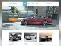 Homepage client project