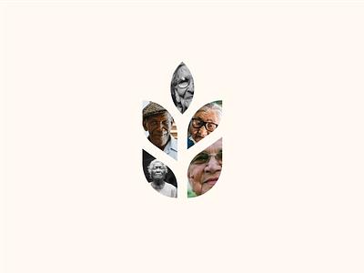 Be yourself design icon illustration concept branding minimal clean vector blog