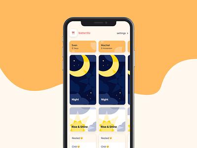 Calendar view web concept website ios typography vector clean branding illustration app design blog minimal ux