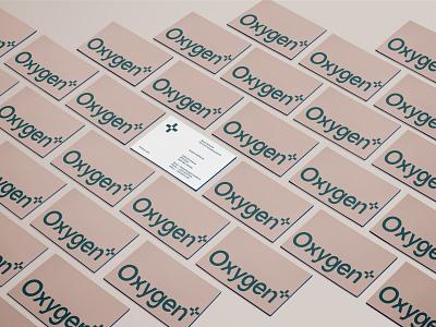 Oxygen - Layout vector design logotype type logo businesscard typography andstudio branding minimal layout