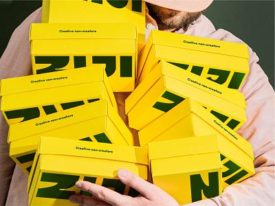 Ziji package design packaging design box packaging mark design minimal andstudio symbol branding logo logotype