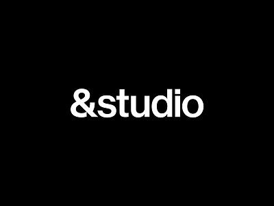 &andstudio icon letter brand minimal typography mark branding logo symbol logotype