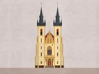 Stručný glosář letenský - Church of St. James