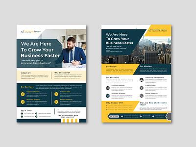 Business Flyer Template Design modern flyer design template design smart flyer professional flyer creative flyer flyer template flyer design corporate flyer business flyer