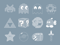 Simple Gaming Icons