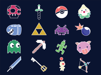 Gaming Icons Round 2
