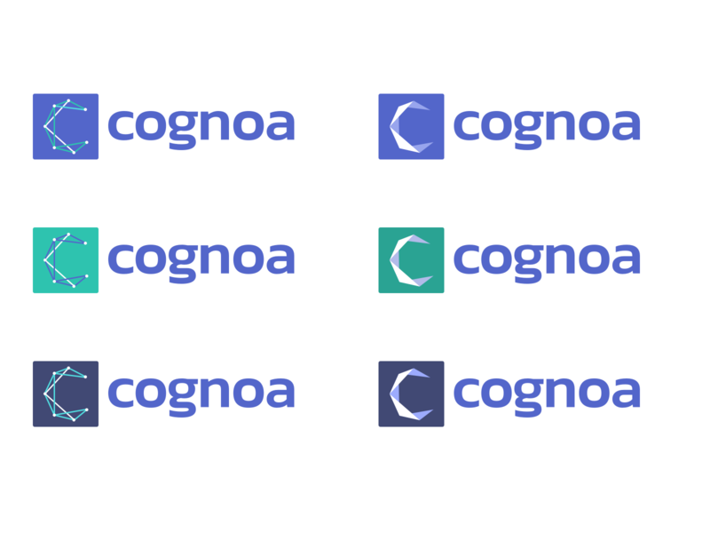 Cognoa Logo Explorations logo