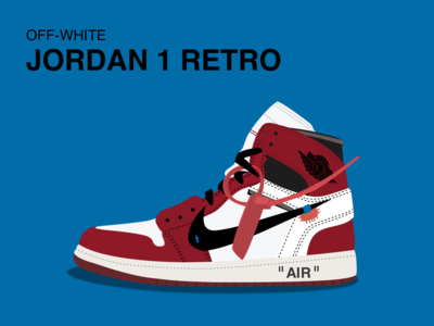 Jordan 1 Retro jordan nike shoes vector sketch